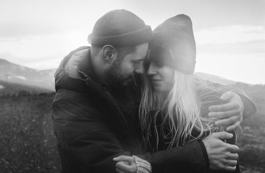 Plener ślubny za granicą – sesja na Islandii