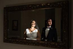Ślubna sesja zdjęciowa w miejscu wesela - Pałacu Zdunowo