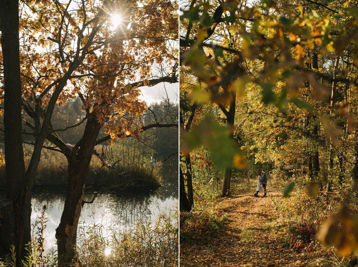 jesienna sesja przedslubna okolice warszawy 6