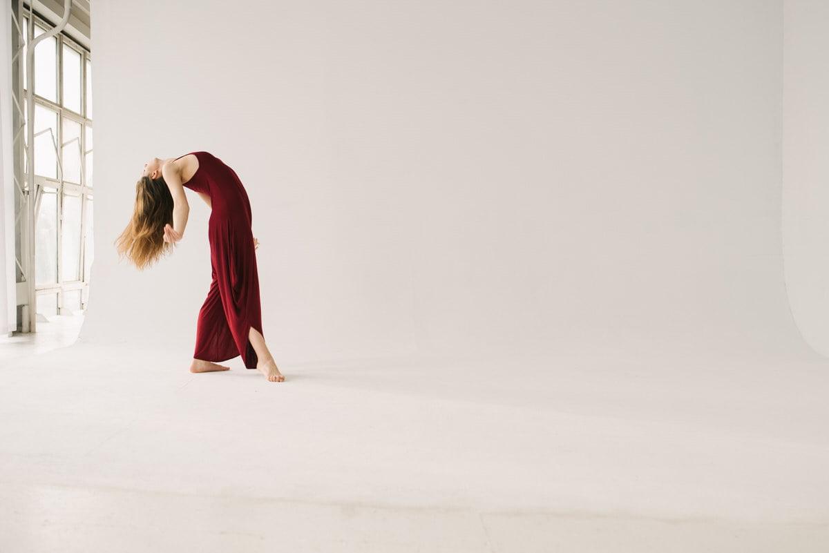 Sesja taneczna solo