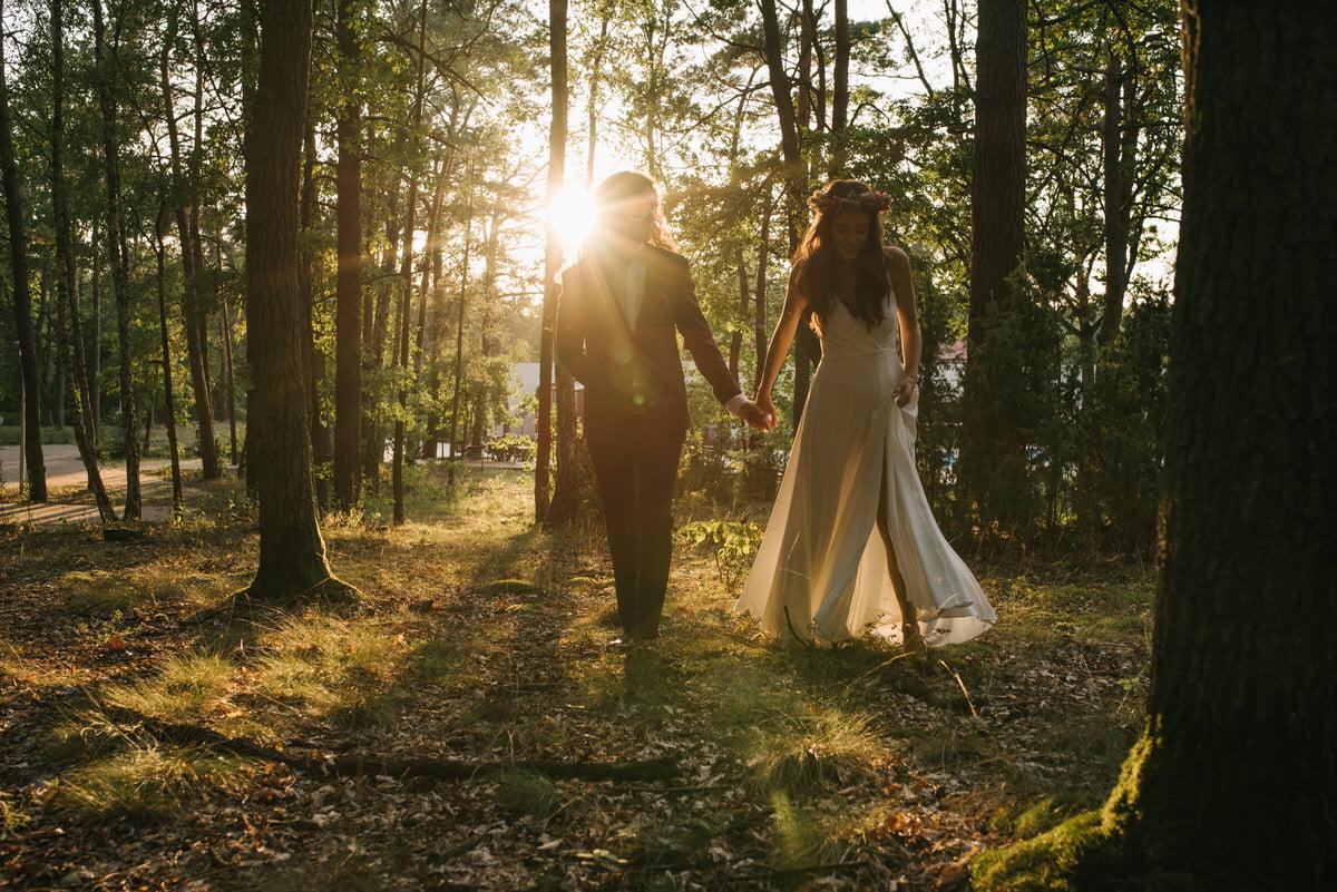 sesja po ślubie plenerowym