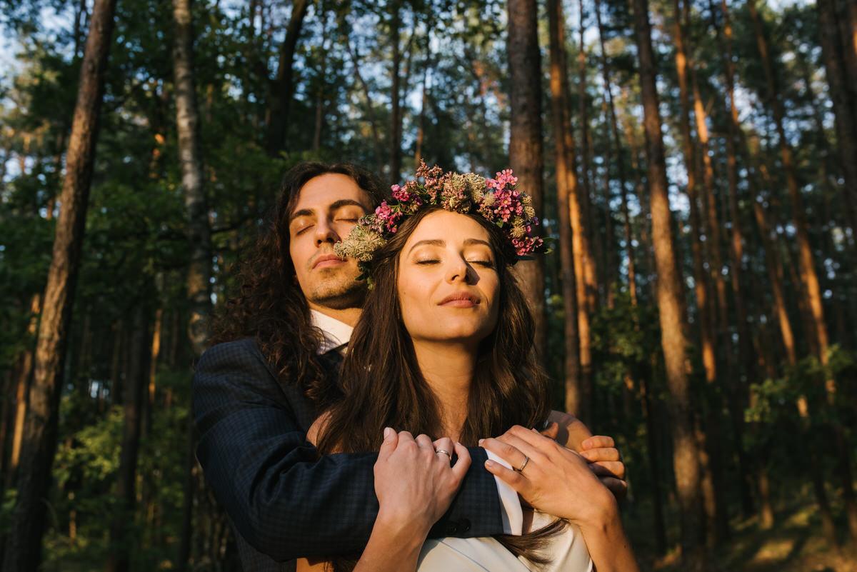 sesja ślubna w Las Woda