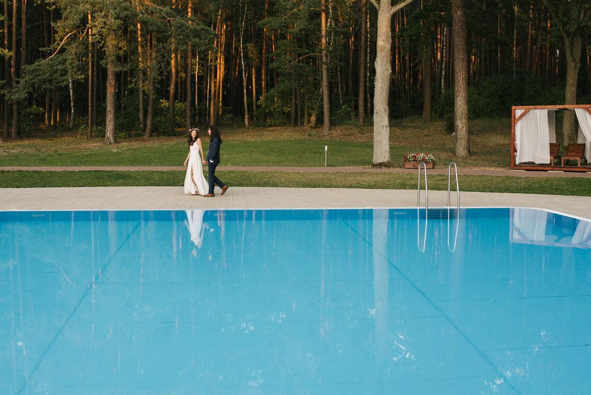 basen Las Woda ślub cywilny
