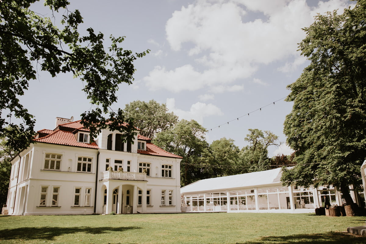 Pałac Czosnowskich - sala weselna w stylu glamour