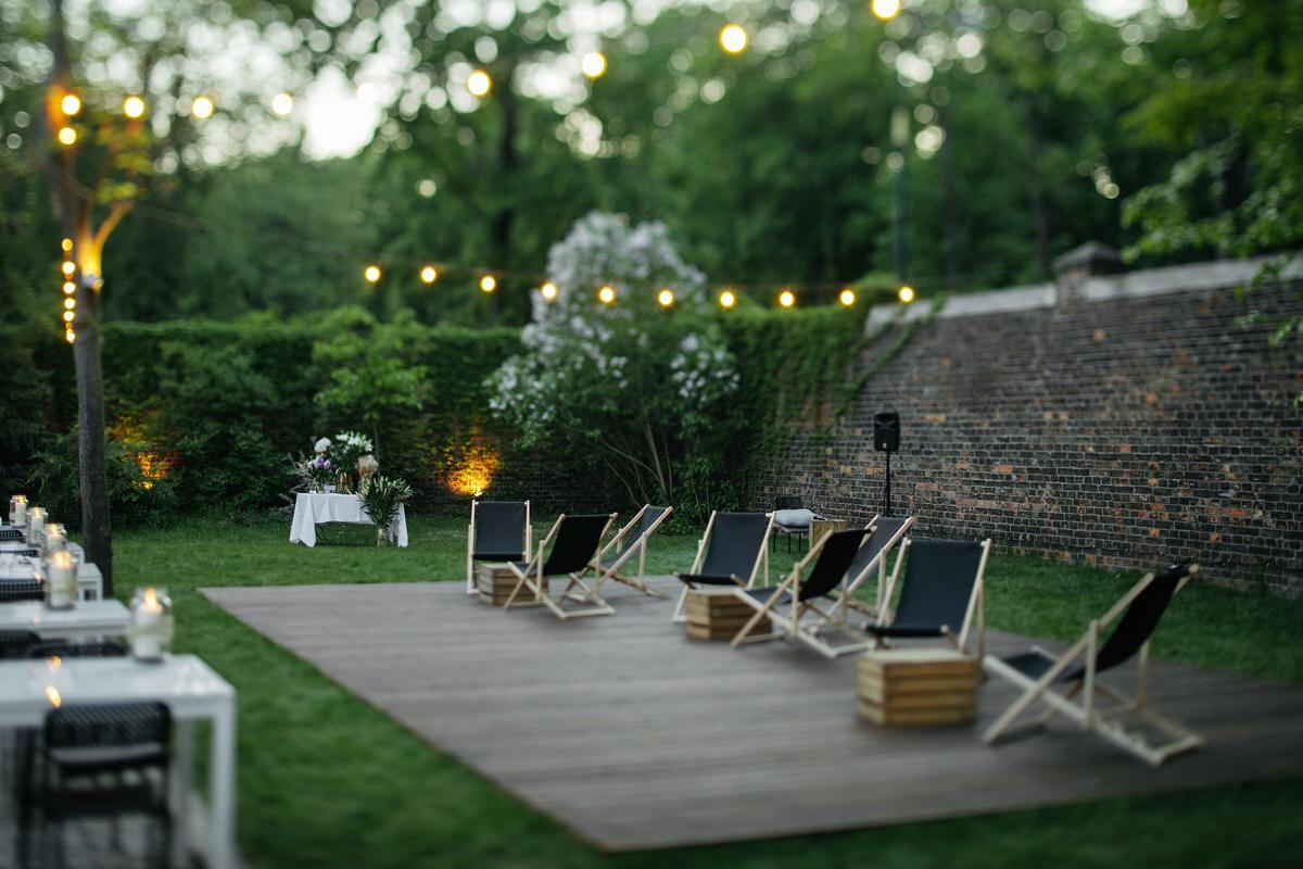 Spokojna 15 - oryginalne miejsce na wesele w Warszawie