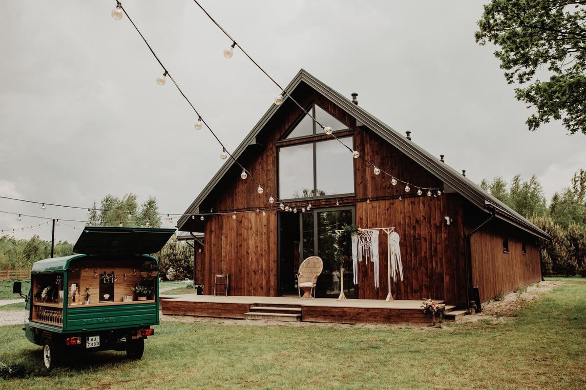 Stodoła Borucza - rustykalny dom weselny mazowieckie