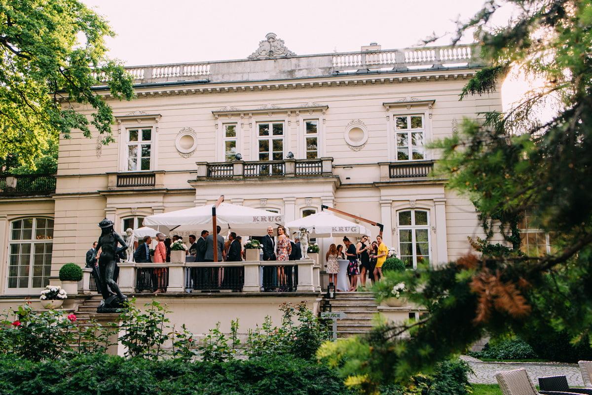 Pałac Sobańskich Amber Room Warszawa - elegancka restauracja na wesele