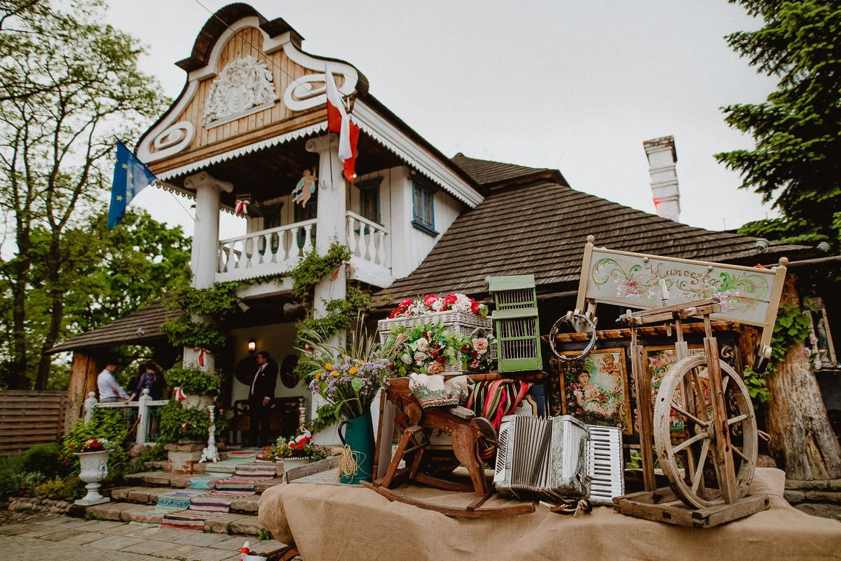 Folwark u Różyca - folkowa sala weselna mazowieckie