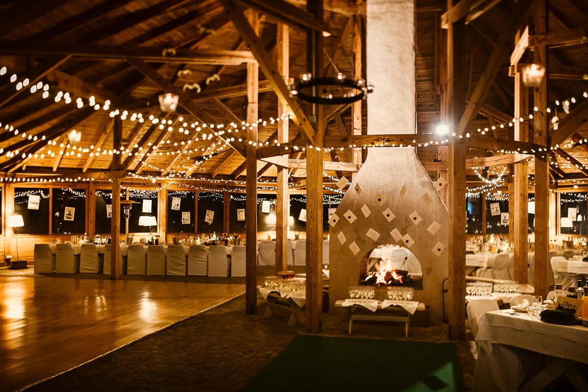 Górki Zielone - sala weselna w stylu rustykalnym mazowieckie