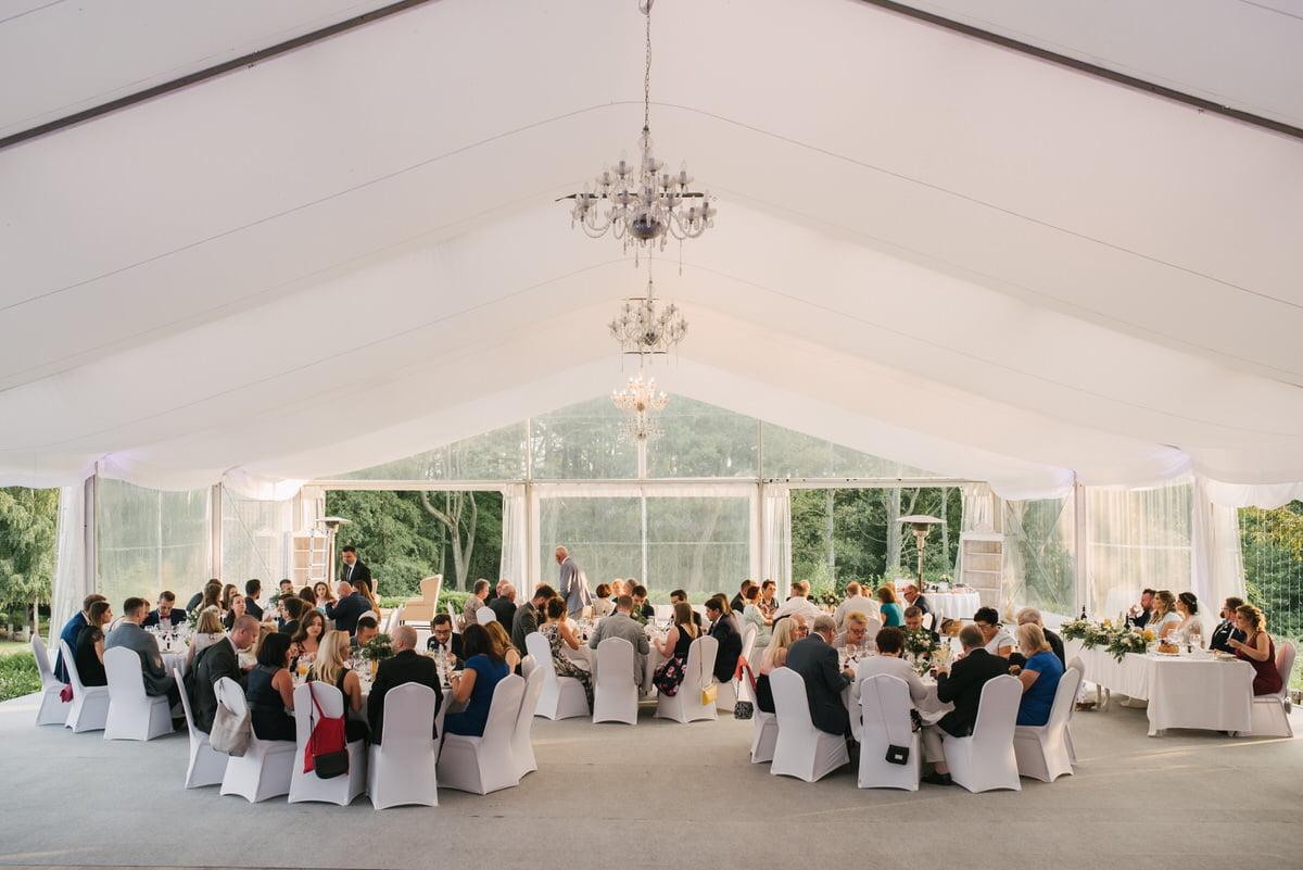 Jaworowy Dwór - elegancki namiot weselny Mazowieckie