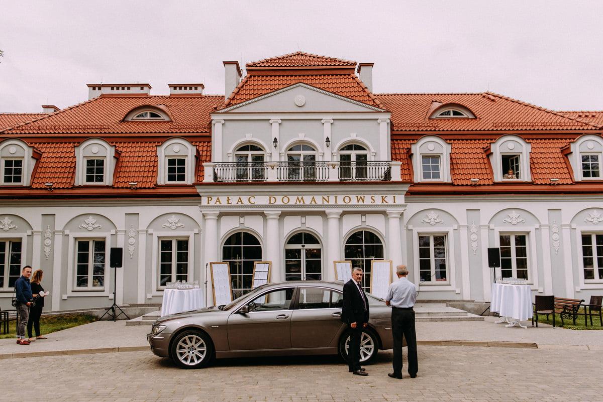 Pałac Domaniowski - elegancki pałac na wesele w województwie mazowieckim
