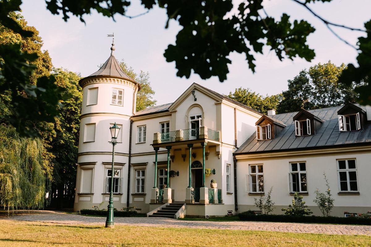 pałac Lasotów - glamour wesele Mazowieckie