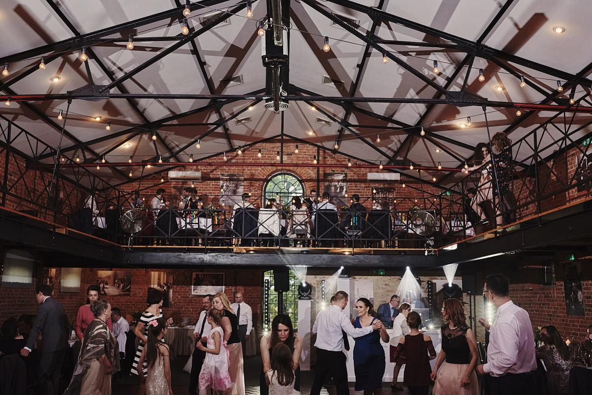 Ucieranie Treści - restauracja na wesele industrialne pod Warszawą